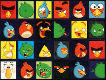 Beloningsstickers angry birds