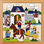Puzzel - kasteel en piraten