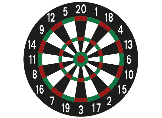 Decomark Darts Xxl Avec Placement