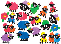 Schaap stickers vilt - ass/100