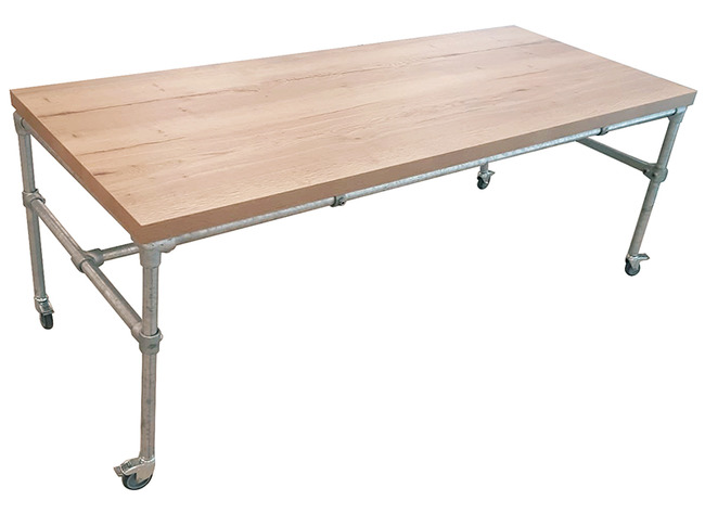 Table Tubulaire Robuste