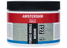 Puimsteen - medium middelfijn - pot/500 ml