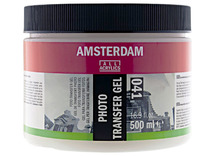 Foto transfer gel - pot/500 ml