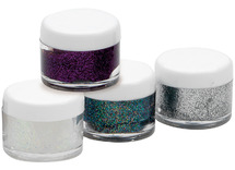 Schmink - gel - glitter - 8 ml -  ass/4kl