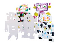 Crea-papier - stand-up robots - set/24