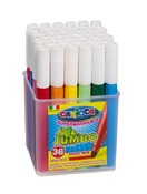 Stift - kleurstift - carioca jumbo - pot - ass/36