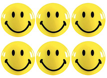 Magneten - smiley - set/6