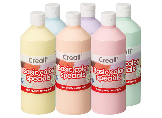 Creall Pastelverf - Ass/6x500ml