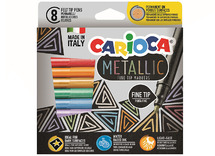 Carioca joy - metallic - set/8