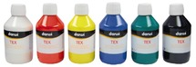 Textielverf - darwi tex - 250 ml - ass/6kl