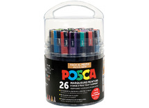 Verfstiften - posca - pack xl - festival - pot/26