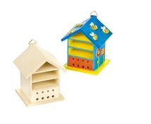Hout - insectenhotel - set/2