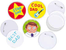Deco - badge maken - set/10