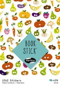Stickers - stickerboek - fruit - set/1262