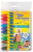 Stift - textielmarker - set/12